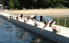 Strandbad Winterswijk duiken